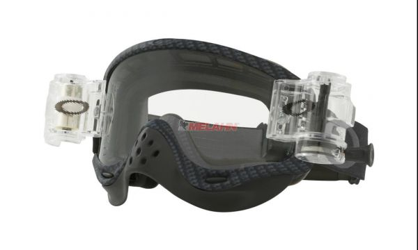 OAKLEY Brille: O Frame Roll-Off (30mm), carbon