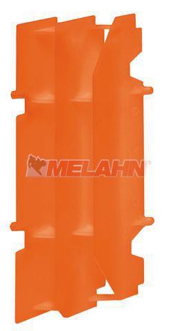 KTM Kühlerschutz 4-Takt, orange, 1 Stück, SX/EXC 400-525 01-07