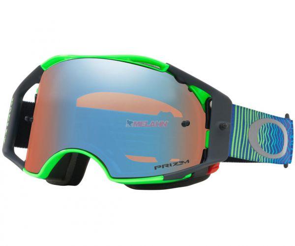 OAKLEY Brille: Airbrake Prizm MX Shockwave Blue Green, blau/grün/torch-iridium