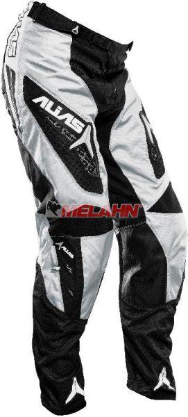 ALIAS Hose: A1, schwarz/silber