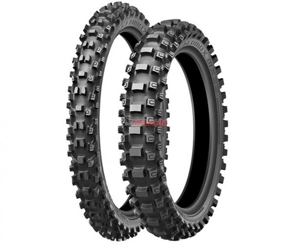 DUNLOP Reifen: Geomax MX33, 120/80-19