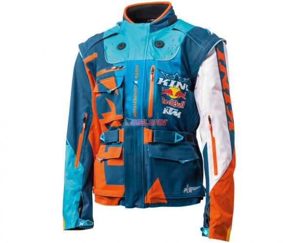 KINI-Red Bull Jacke: Competition, blau/orange