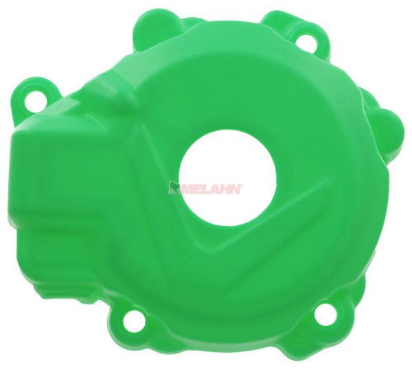 POLISPORT Zündungsdeckelschutz KXF 250 17-, grün