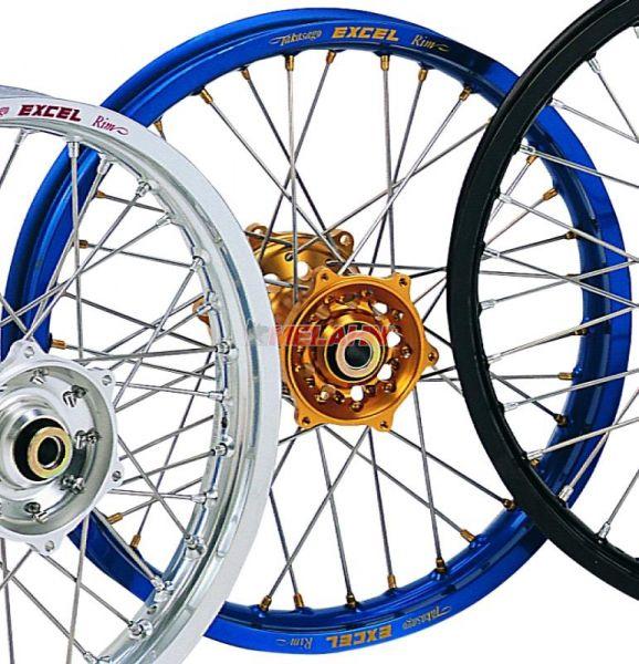 EXCEL Komplett-Rad 2,50x18 Zoll, blau