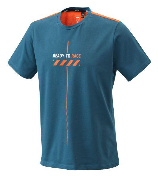 KTM T-Shirt: Pure Style, blau