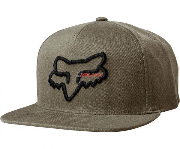 FOX Snapback Cap: Instill, braun
