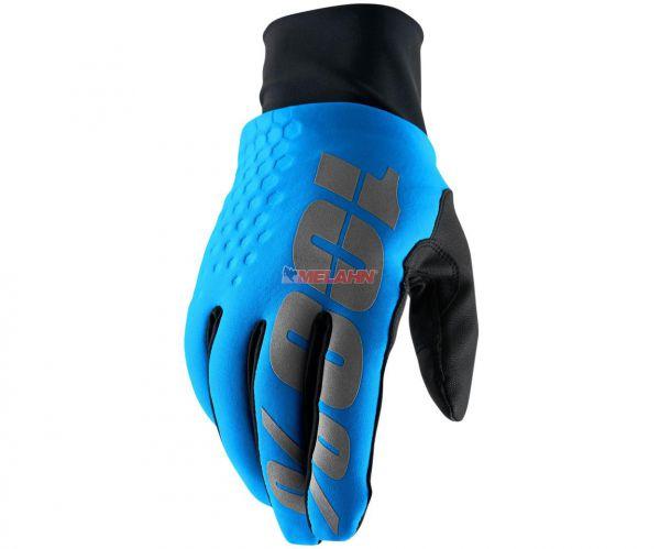 100% Handschuh: Hydromatic Brisker, blau