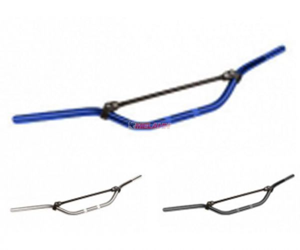 LUCAS MX Aluminium-Lenker, hoch, blau