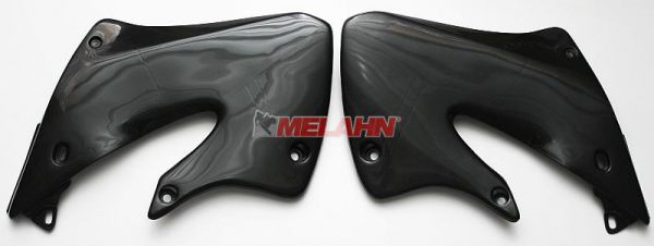 UFO Spoiler (Paar) Kühlerverkleidung CR 125/250 98-99, weiß