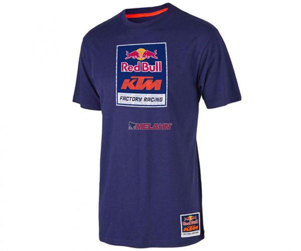 KTM RED BULL T-Shirt: KTM Racing Team, navy