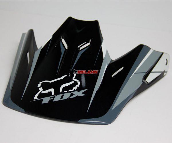 FOX Helmschirm: Visor V3 Blitz 06, schwarz