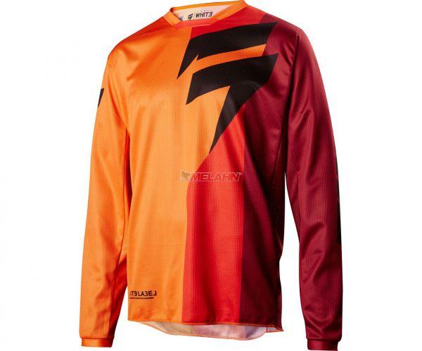 SHIFT Jersey: Whit3 Tarmac, orange