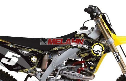 FX Tankdekor + Airbox: Metal Mulisha RMZ 450 08-17