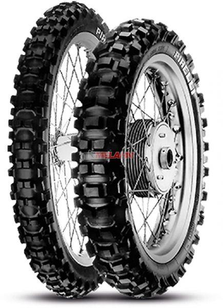 PIRELLI Reifen: XC Mid Hard, 110/100-18 (mit Straßenzulassung)