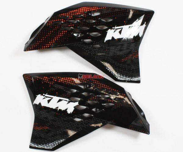 KTM Spoiler (Paar) mit Dekor 09-11, EXC
