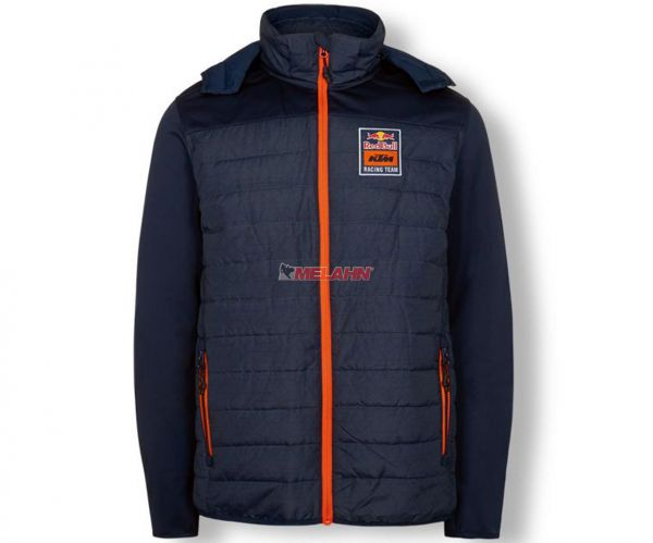 KTM RED BULL Jacke : KTM Racing Team Hybrid, navy/orange