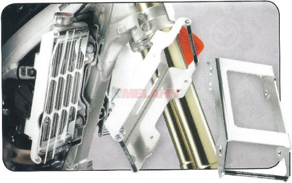 ZAP Aluminium-Kühlerschutz (Paar), CRF 250 10-13
