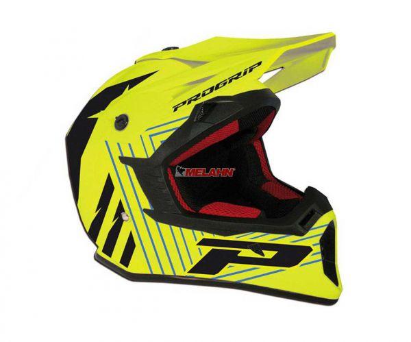 PROGRIP Helm: 3095, neon-gelb