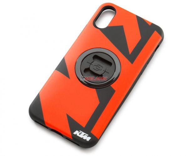 KTM Smartphonehülle iPhone XS Max, schwarz/orange