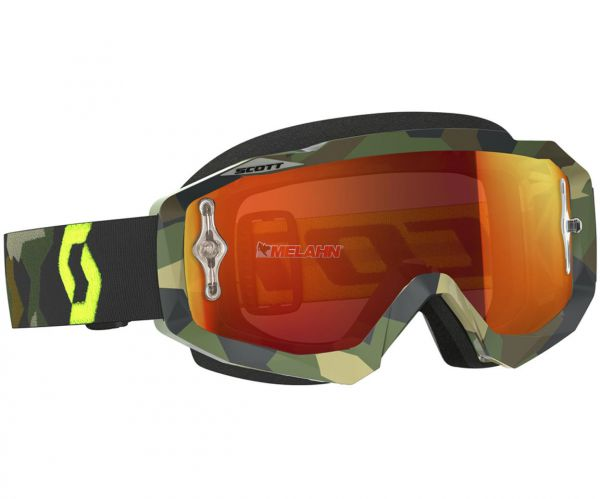 SCOTT Brille: Hustle MX, verspiegelt, camo