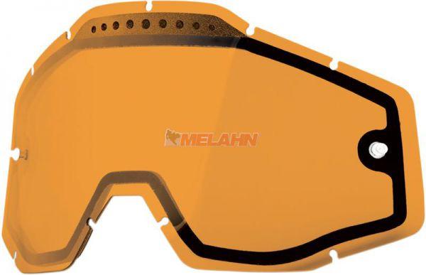 100% Doppelglas, orange
