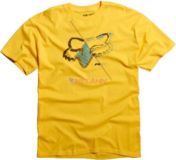 FOX T-Shirt: Overdrone, gelb