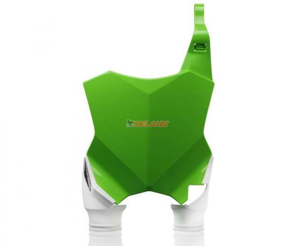 ACERBIS Starttafel: Raptor, grün/weiß, KXF 250 17- / 450 16-