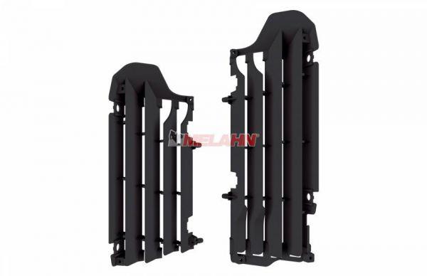 POLISPORT Kühlerschutz (Paar) RMZ 450 18-, schwarz