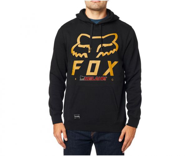FOX Hoody: Heritage Forger, schwarz
