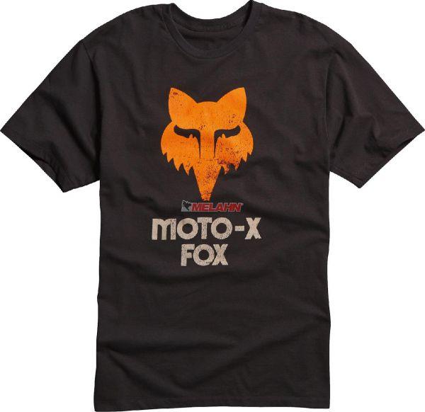 FOX Premium-T-Shirt: 40 Years, schwarz