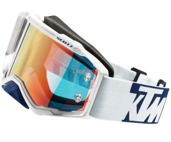 SCOTT Brille: Prospect KTM, Flash weiß/blau