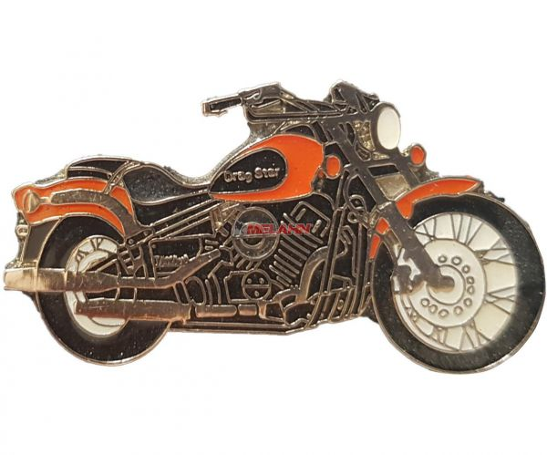 Pin YAMAHA Drag Star, orange