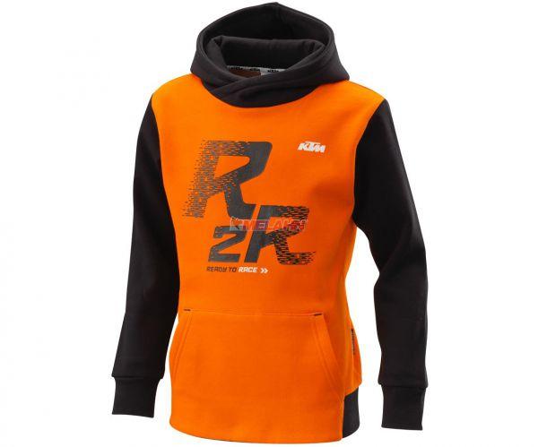 KTM Kids Hoody: R2R, schwarzorange