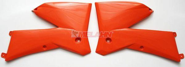 UFO Spoiler (Paar) SX/EXC 125/525 05-06 (EXC bis 07), orange98