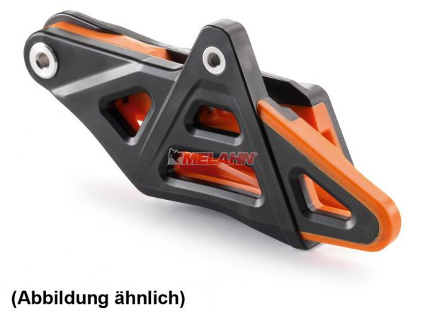 KTM Kettenführung hinten komplett orange, EXC/Freeride 14-