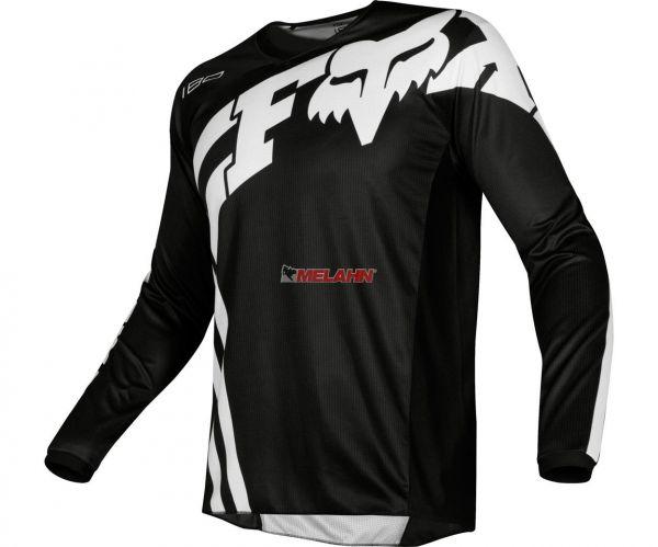 FOX Jersey: 180 Cota, schwarz/weiß