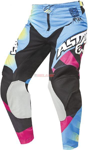 ALPINESTARS Hose: Racer, gelb/magenta