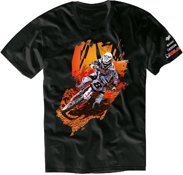 MELAHN T-Shirt: 16th, schwarz