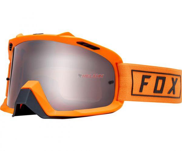 FOX Brille: AIR SPACE Gasoline, orange