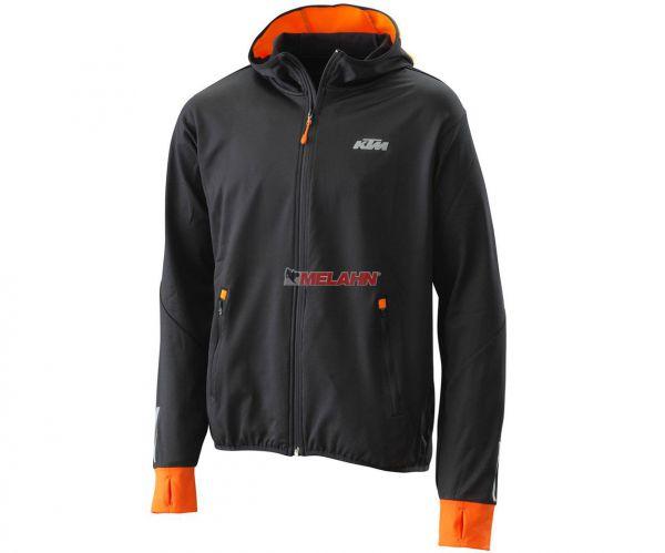 KTM Jacke: Emphasis, schwarz/orange