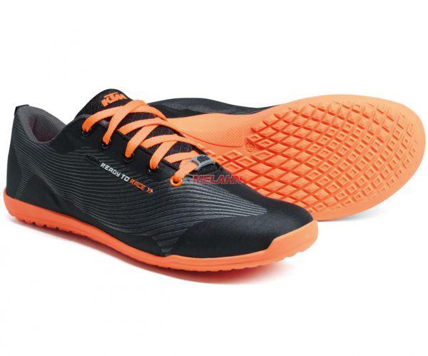 KTM Schuh: Trade Show, schwarz/orange