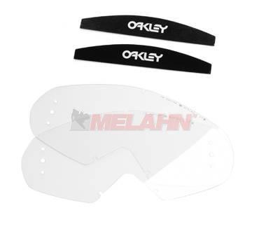OAKLEY Ersatzglas Roll-Off (2 Stück) Mayhem, klar