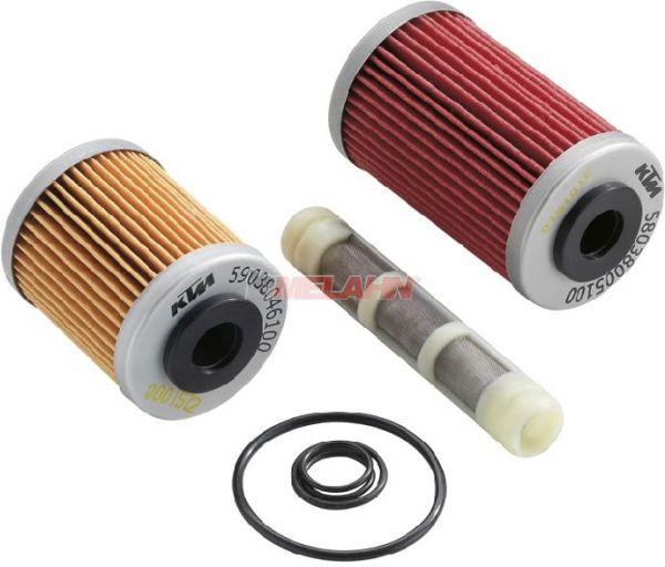 KTM Ölfilter-Set, V2 Motoren (außer 1190 R8)