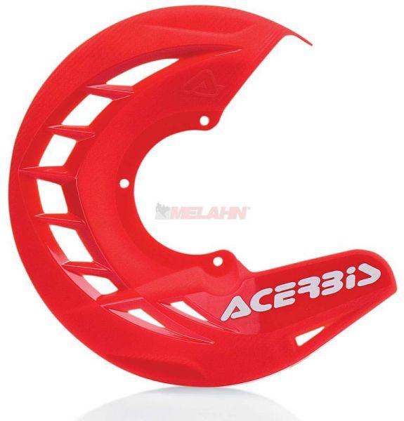 ACERBIS Kunststoff-Bremsscheibenschutz vorne: X-Brake , rot