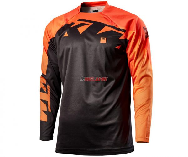 KTM Jersey: Pounce, schwarz/orange