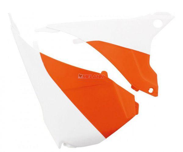 POLISPORT Filterkastendeckel KTM EXC 14-, orange