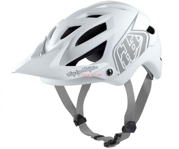 TROY LEE DESIGNS MTB-Helm: A1 Drone(MIPS), weiß