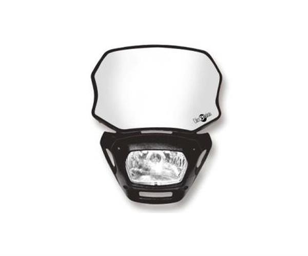 ACERBIS Lampe: Dimension, schwarz