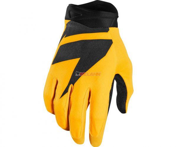 SHIFT Handschuh: 3lack Air, gelb,