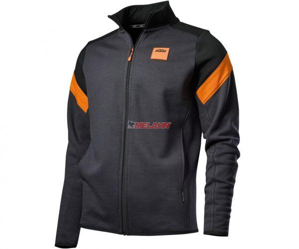 KTM Zip-Sweater: Mechanic, grau/schwarz